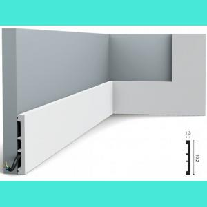 Fussleiste 10,2 x 1,3 cm SX163 Flexible Orac Decor 10.2 cm