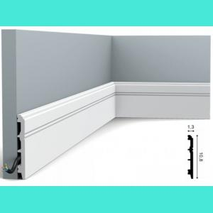 Fussleiste 10,8 x 1,3 cm SX105 Orac Decor 10.8 cm