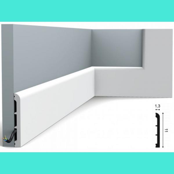 Fussleiste 11 x 1,3 cm SX184 Orac Decor 11 cm