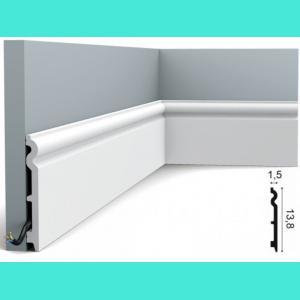 Fussleiste 13,8 x 1,5 cm SX138 Flexible Orac Decor 13,5 cm