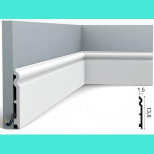 Fussleiste 13,8 x 1,5 cm SX138 Orac Decor 13,5 cm