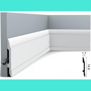 Fussleiste 14,8 x 1,7 cm SX104 Orac Decor 14.8 cm