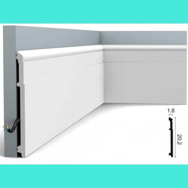 Fussleiste 20,2 x 1,6 cm SX156 Orac Decor 20,2 cm
