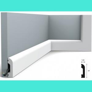 Fussleiste 5 x 1,3 cm SX182 Flexible  Orac Decor 5 cm