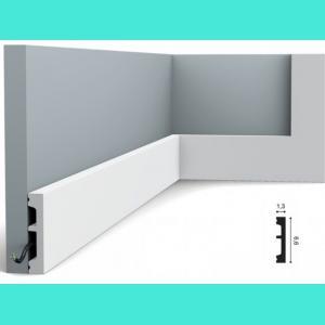 Fussleiste 6,6 x 1,3 cm SX157 Orac Decor 6.6 cm
