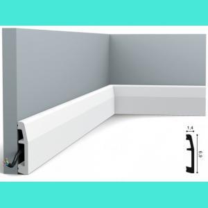 Fussleiste 6,9 x 1,4 cm SX125 Orac Decor 6,9 cm