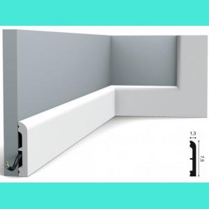Fussleiste 7,5 x 1,3 cm SX183 Orac Decor 7,5 cm