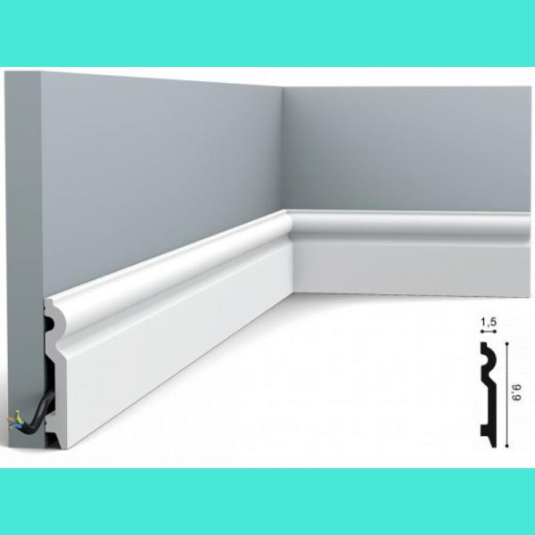 Fussleiste 9,9 x 1,5 cm SX137 Flexible Orac Decor 9,9 cm