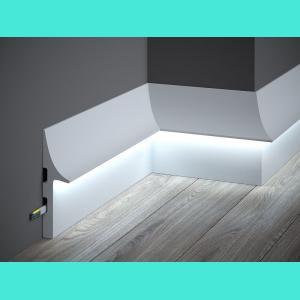 LED Sockelleiste aus Duropolymer QL008 Mardom Decor 14.8 cm