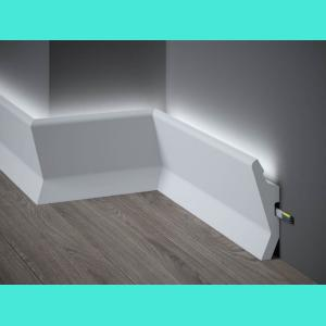 LED Sockelleiste aus Duropolymer QL014 Mardom Decor 4 cm