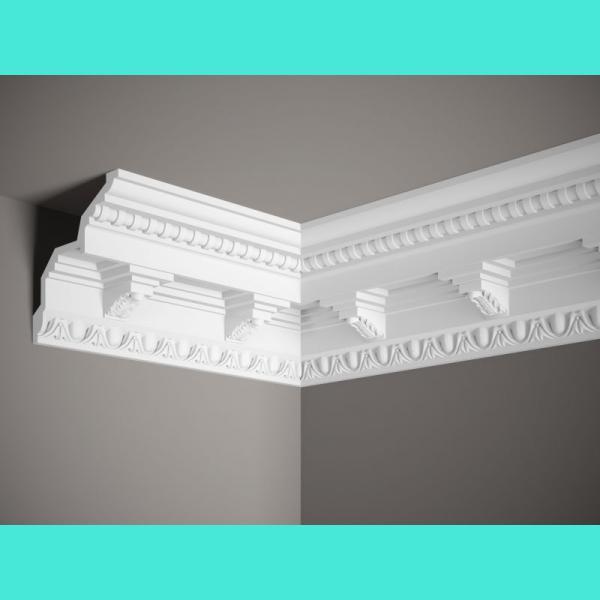 Deckenabschlussleiste Styropor LP1 – 10 cm 12 cm
