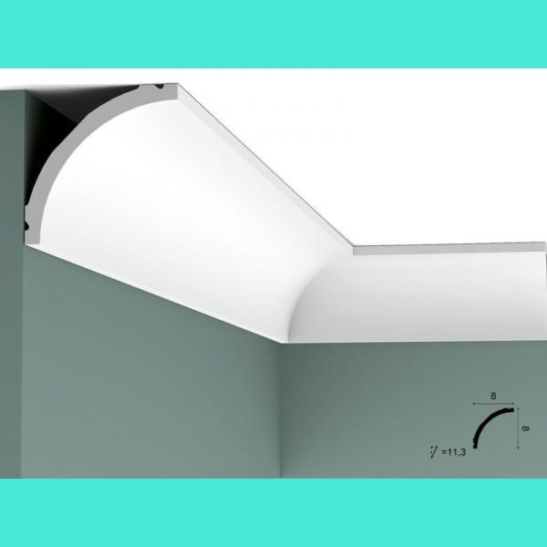 Deckenleiste C240 Flex Orac Decor 8 cm