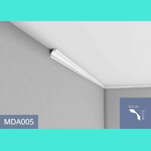 Deckenleiste – MDA005F (Flex) Mardom Decor 6.5 cm