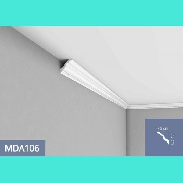 Deckenleiste – MDA106F (Flex) Mardom Decor 7.5 cm