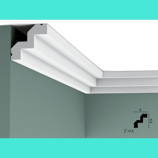 Profil für Decke C602 Flex Orac Decor 5.3 cm